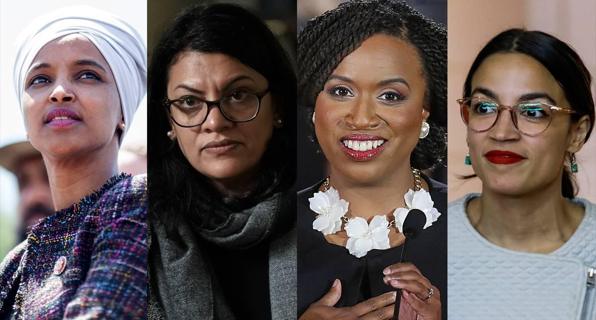 Trump pidió a congresistas negras y latinas