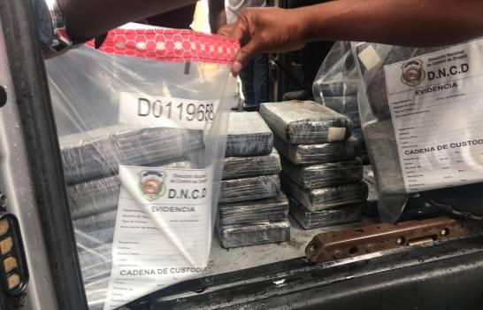 reconoce que vinculado a decomiso 91 kilos de cocaína