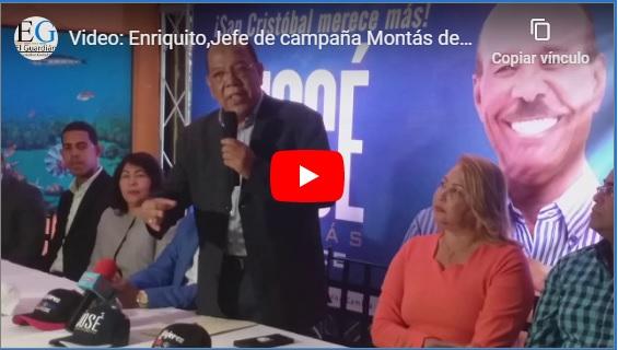 Jefe de campaña Montás denuncia abultamiento nóminas de Alcaldía SC y EGEHID