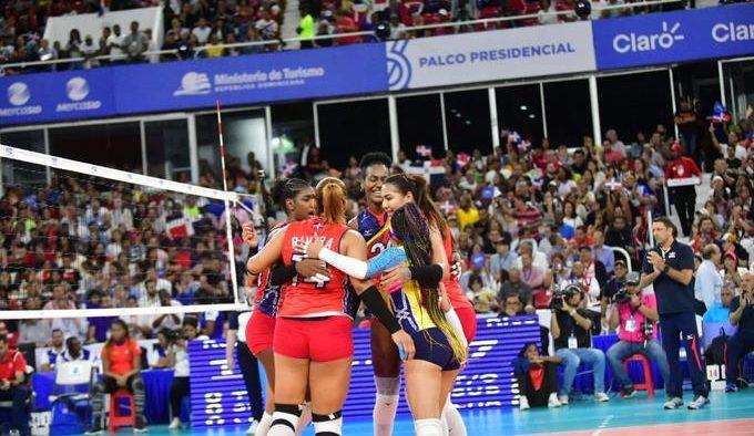 Reinas del Caribe vencen a PR 3-0 y pasan a Olimpiadas de Tokyo 2020