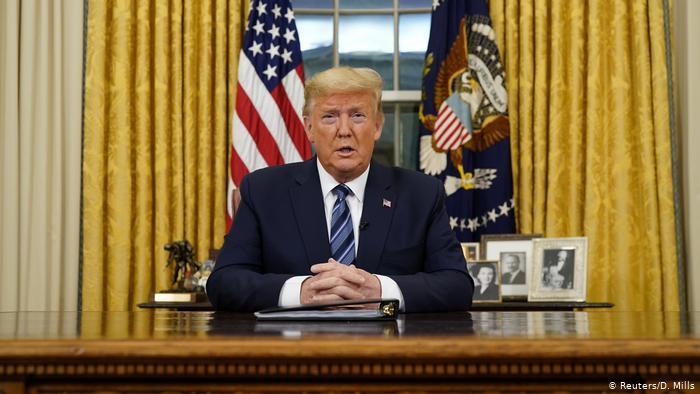 Trump suspende viajes desde Europa durante un mes por el coronavirus